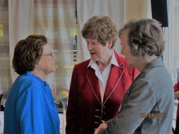 Lucie Hermanns, Gisela Poelke, Ingeborg Lund